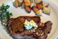 How To Make Grilled Ribeye Steak With Parsley Butter Sauce