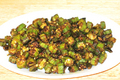 How To Make Spicy Bhindi Masala