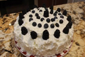 Cheryls Home Cooking - White & Blue Coconut Cake - Memorial Day