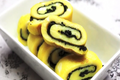 Korean Food: Rolled Egg And Laver ( )