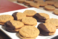 How To Make Peanut Butter Sandwich Cookies: Cookie Jar