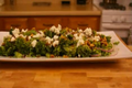 Broccoli and Goat Cheese with Walnuts