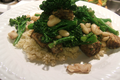 Portobello Mushrooms, Broccoli and White Beans