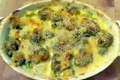 Broccoli And Cheddar Gratin