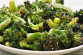 Broccoli With Sesame Glaze
