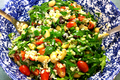 How To Make Brown Rice Garden Salad