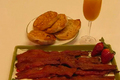 How To Make Bacon Glazed With Brown Sugar And Pepper