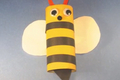 How to Make an Toilet Paper Tube Bumble Bee
