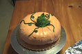 Buttercream Frosted Pumpkin Cake