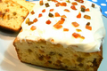 How To Make Butterless Fruit Loaf With Sour Cream Frosting