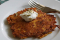 How To Make Crispy Butternut Squash Cakes