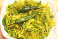 Indian Cabbage with Peas Masala