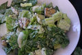 Healthy Vegan Caesar Salad