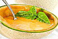Raw Cantaloupe Soup