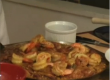 Paella with Shrimp and Chicken  Part 2: Cooking Shrimps