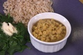 Indian Chana Dal with Garlic