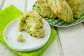 How To Make Easy St. Patrick's Day Recipes - Dye Free Cheddar Cheese Green Scones