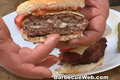 How To Make Cheese Stuffed Grilled Hamburger