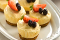 Little Lemon Cheesecakes