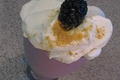 How To Make Cheesy Blackberry Shake