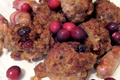 Bacon Stuffing with Chestnut and Port