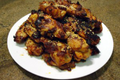 Doenjang Molasses Chili Bourbon Sticky Chicken Wings Recipe Video