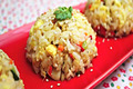 How To Make Chicken And Vegetable Fried Rice (  )
