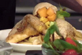 How To Make Chicken and Waffle Topped with Summer Fruit Salsa