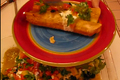 Homemade Chicken Enchiladas with Salsa Verda