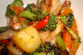 How To Make Chicken-shrimp Stir Fry With Vegetables