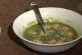 Homemade Chicken Stock Spinach and Broccoli Soup