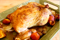 Roasted Chicken with Tangerine and Onion