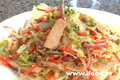 Chinese Chicken Salad With Crisps