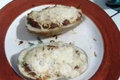 How To Make Chili Cheese Baked Potato Skins