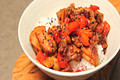 Chili Chicken & Red Pepper Stir fry