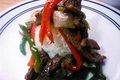 Chinese Pepper Steak with Onions 