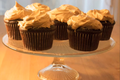 Chocolate And Brown Sugar Cupcakes With Peanut Butter Frosting