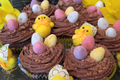 How To Make Easter Chocolate Flavored Cupcakes