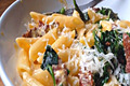 How To Make Chorizo And Spinach Pasta