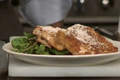How To Make Low Fat Chicken Scallopini on Spring Greens with Lemon Wine Dressing