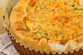 Clean-out-the-Fridge Quiche 