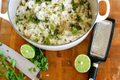 How To Make Coconut Lime Cilantro Rice
