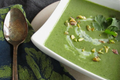 Coconut Cream Of Spinach Soup In A Hurry