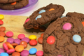 Smartie Top Cookies