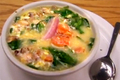 How To Make Egg Drop Soup With Spinach And Mushroom