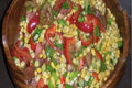 Corn Salad with Apple Cider Vinaigrette