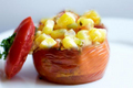 How To Make Corn Stuffed Tomatoes