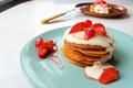 How To Make Cornmeal Griddlecakes With Smoked Salmon