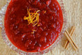Homemade Cranberry Sauce with Orange and Cinnamon