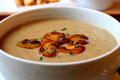 Thick And Smooth Cream Of Mushroom Soup